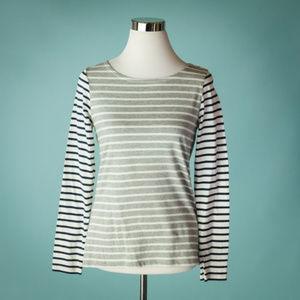 Boden 6 Multicolor Stripe Knit Top